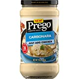 Prego Cooking Sauce Carbonara Jar, 15 oz
