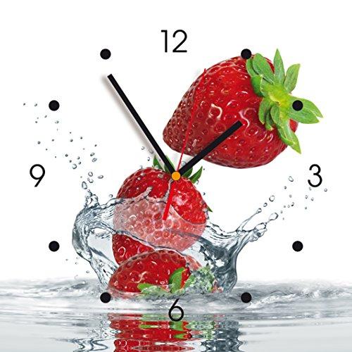 Contento 866079 - Reloj de pared de cocina, fresón