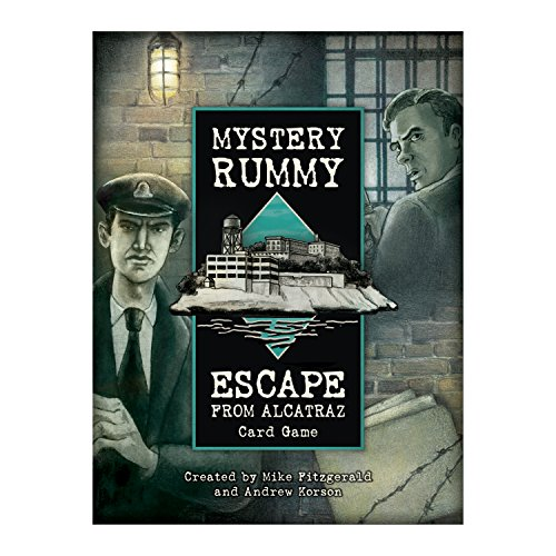 Eagle-Gryphon Games EAG01476 Brettspiel Mystery Rummy: Escape from Alcatraz
