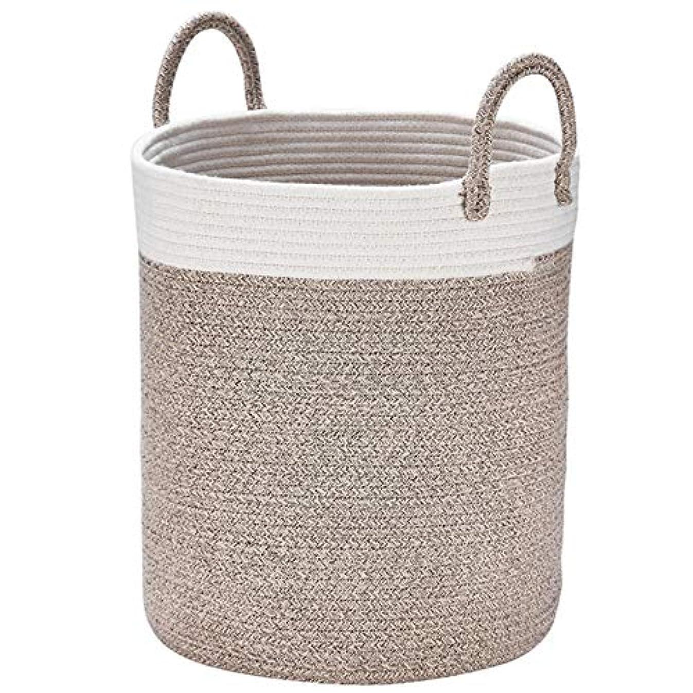 Woven Basket Rope Storage Baskets - Large Cotton Organizer 16