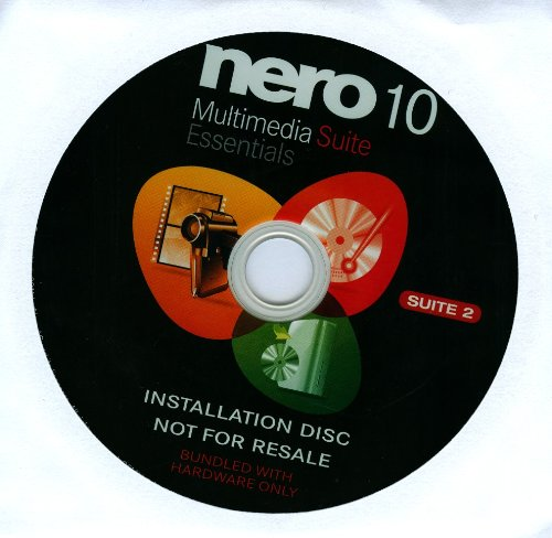 Nero Multimedia 10 Essentials Suite 2 - OEM