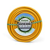 Sharpex Hybrid Heavy Duty Garden Hose | Light Weight Durable Hose Pipe Best Choice for Watering and...