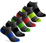 Prince Boys' Low Cut Athletic Socks for Active Kids (3-9 (Big Boys), Grey)