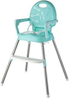 Beautiful 3-in-1 Highchair With Tray,Multi Function Junior Chair And Foldable Pocket Snack Booster Seat, Safety Belt (Colo...