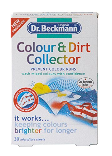 ドクターベックマン ランドリーケア カラー&ダートコレクター 色移り防止シート 30枚入り