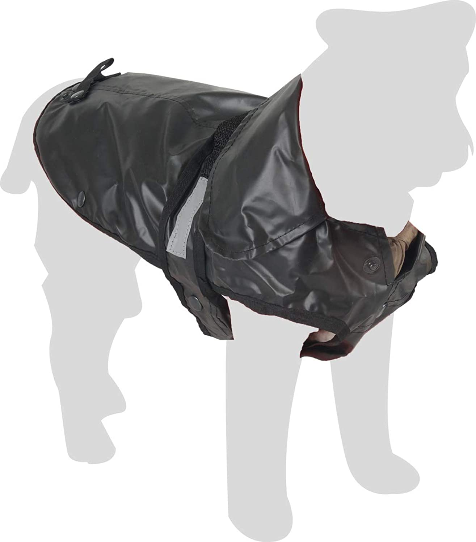 Karlie Outdoor 2in1 Dog Coat with Fleece, 80 cm, XXL, Black