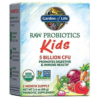 RAW Probiotics Kids, 3.4 oz (96 g) (Ice) by Garden Of Life