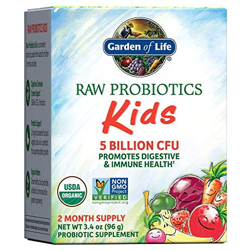Raw Probiotics Kids Digestive Powder