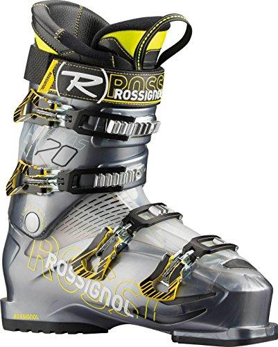 Rossignol Alias Sensor 70Hombre de Alpin–Botas de esquí (Gris/Amarillo), MP 26,5