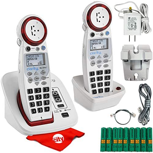 Clarity XLC3 4 DECT 6 0 Hearing Loss Big Button Speakerphone Cordless Amplified Phone Caller product image