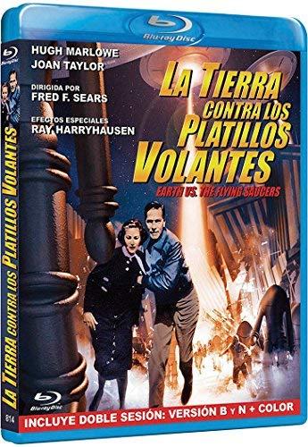 Fliegende Untertassen greifen an / Earth vs. the Flying Saucers ( ) [ Spanische Import ] (Blu-Ray)
