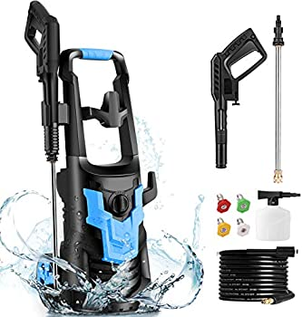 Wholesun 3600-PSI Electric Pressure Washer with 4 Nozzles