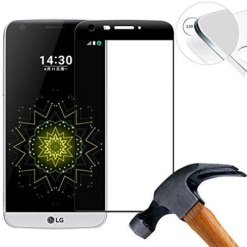Lusee 2 x Pack (Cobertura Completa) 3D de Pantalla Cristal Templado para LG G5...