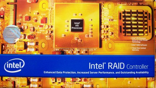 Intel SRCS28X Controller RAID PCI-X 8 x S-ATAII intern 8 Devices 8 Channels