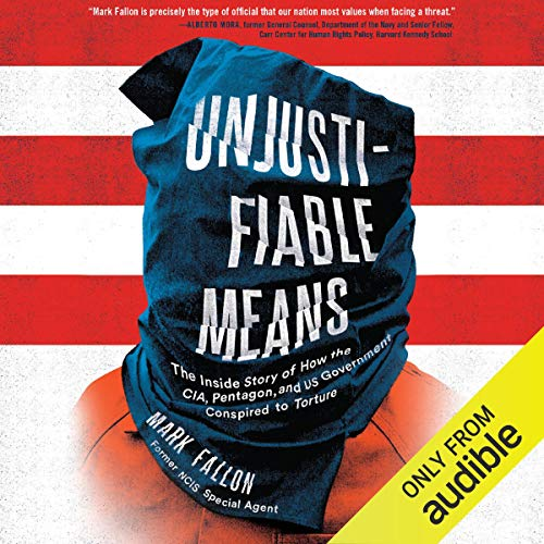 Unjustifiable Means audiobook cover art
