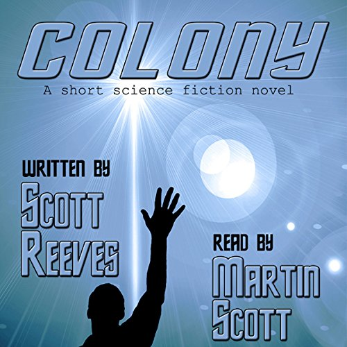 Colony audiobook cover art