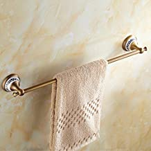 Elegant Towel Stand All Copper Antique Towel Stand Alone Towel Rack Blue-and-White Porcelain Retro Towel Bar Towel Hanger ...
