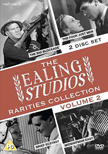 Ealing Studios Rarities Collection The  Volume Two Midshipman Easy  Brief Ecstacy  The Big Blockade  The Four Just Men (2 Dvd) [Edizione: Regno Unito] [Edizione: Regno Unito]