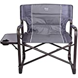 Timber Ridge XXL Directors Chair Oversized Supports 600 lbs, 28' Wide Heavy Duty Folding Camping...