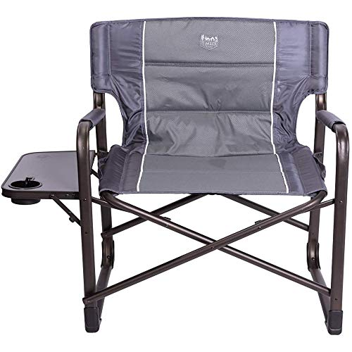 Timber Ridge XXL Directors Chair Oversized Supports 600 lbs, 28' Wide Heavy Duty Folding Camping Chair Fully Padded with...
