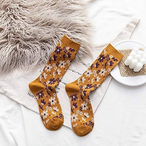 2 Pares de Calcetines para Hombres y Mujeres Calcetines de Felpa cálidos Gruesos de Invierno Calcetines de Tubo para Mujer Calcetines de Piso Calcetines de Toalla-a41