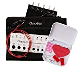 """TWIST Red Lace Interchangeable Knitting Needle 5"""" Tip Set-Mini Complete"""