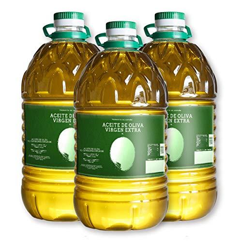 Aceite de Oliva Virgen Extra - 5 litros Pack 3 - Cooperativa de Elche de la SIerra