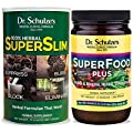 Dr. Schulze's | Superslim & SuperFood Plus Combo | Weight Loss Aid | Herbal Multivitamin Concentrate | Dietary Supplement | Organic Powder | Suppress Appetite & Increase Energy | Essential Minerals