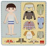 Goula Dress-up Boy Wooden Puzzle