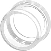 Siemens 3SU19000DC700AA0 Silicone Protection Cap, for Use with Sirius ACT 3SU1, Extended Pushbuttons, 22mm, Clear
