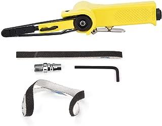 FTVOGUE 330 * 10mm / 520 * 20mm Air Pneumatic Belt Sander Pulidor Máquina de Pulir con 2 Cinturones de Arena(330 * 10mm)