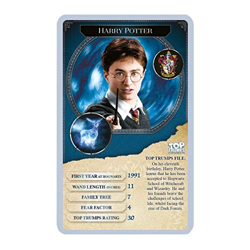 Harry Potter Greatest Witches and Wizards Top Trumps Card Game