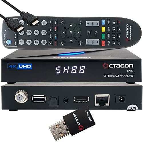 Octagon SX88 4K UHD S2 IP Bild