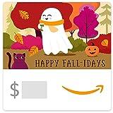 Amazon eGift Card - Halloween Ghost and Coffee