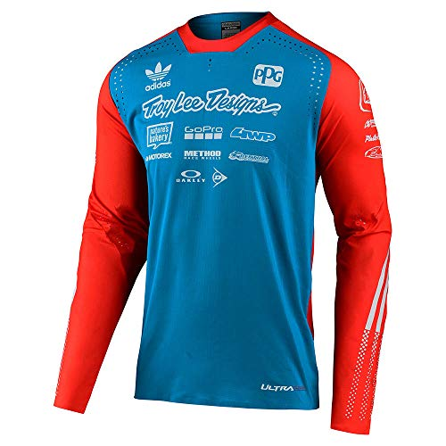 Troy Lee Designs Jersey Special Edition - Ultra Blau Gr. L