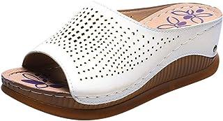 サンダル レディース Joielmal スリッパ ルームシューズ ファッション ファッション サンダル ビーチサンダル コンフォート サンダル ウエッジソール 歩きやすい 疲れない 着心地よい 美脚 身長アップ