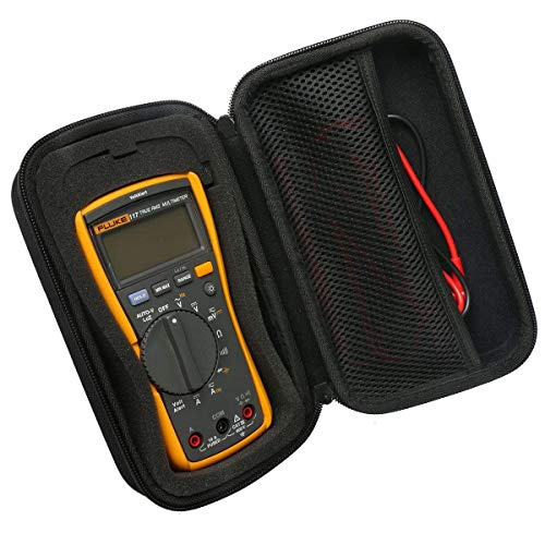 Khanka Hart Tasche für Multimeter Digital Fluke 117/116/115/114/113/103/17B+/177/87V Multimeter Case Von Khanka.(nur tasche)