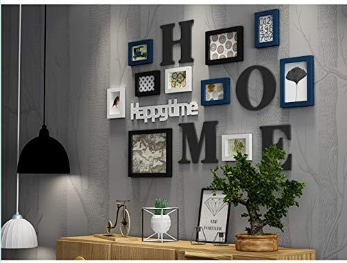 Roze Paws Photo frame muur decoratie collage Massief hout combinatie woonkamer fotolijst muur creatieve restaurant achtergrond