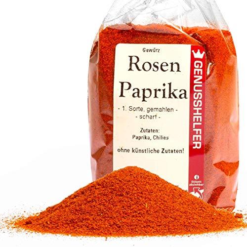 Bremer Gewürzhandel - Paprika rosenscharf 100 Gramm gemahlen - Schärferes Paprikapulver aus Paprika & Chili - ohne Geschmacksverstärker