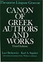 Thesaurus Linguae Graecae Canon of Greek Authors and Works