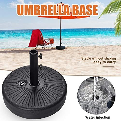 Parapluie Base Portable Durable Jardin Parasol extérieur Parasol Base de guéridon Plage Jardin Parasol Accessoires Sun Shelter Sac Sable