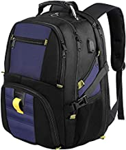 School Backpack,Travel Laptop Backpack with USB Charging Port,TSA Friendly Extra Large Business Luggage Backpack for Men Women,Water Resistant College Bookbag Fit Most 17Inch Laptop-Roy Blue