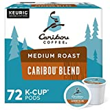 Caribou Coffee Caribou Blend, Single-Serve Keurig K-Cup Pods, Medium Roast Coffee, 72 Count