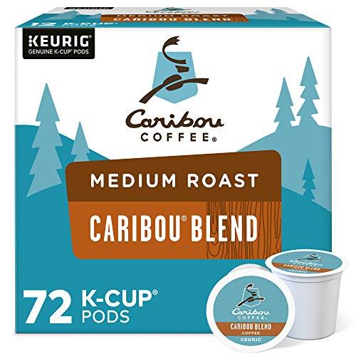 Caribou Coffee Caribou Blend, Single Serve Coffee K-Cup Pod, Medium Roast