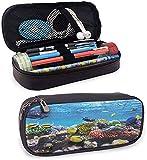 KLKLK Estuche Ocean Pencil case for Girls capisinz Tropical Corals Fish School Natural Life in...