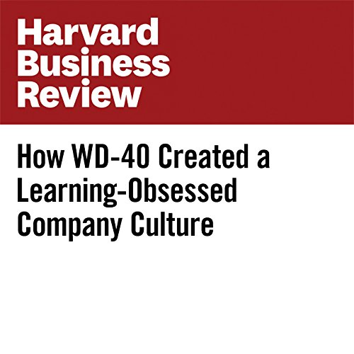 How WD-40 Created a Learning-Obsessed Company Culture cover art