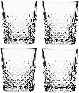 Libbey - Carats - Whiskyglas, Wasserglas Saftglas Becher - 350 ml - 4er Set