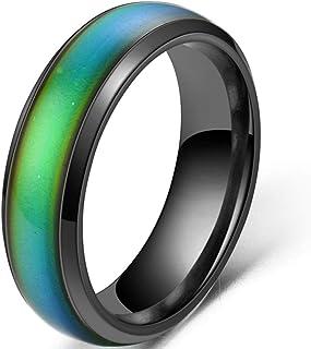 حلقه خلق و خوی باند عروسی در تغییر رنگ حساس به دما از جنس استنلس استیل