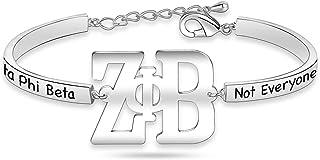 Zeta Phi Beta Necklace 1920 Greek Sorority Bracelet Finer Women Jewelry Sorority Gift for Finer Women