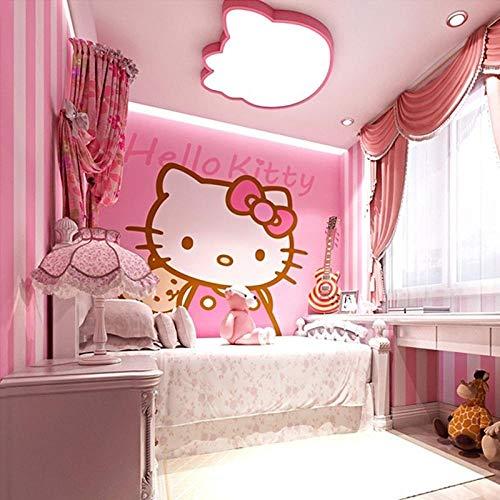 Hellokitty Hello Kitty Wallpaper_3d rosa princesa habitación niños cálida niña dormitorio hellokitty Hello Kitty wallpaper wallpaperWallpaper Mural d Papel Pintado Fotográfico Fotomural-400cm×280cm